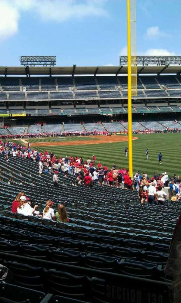 Angel Stadium, section: T231, row: a, seat: 22