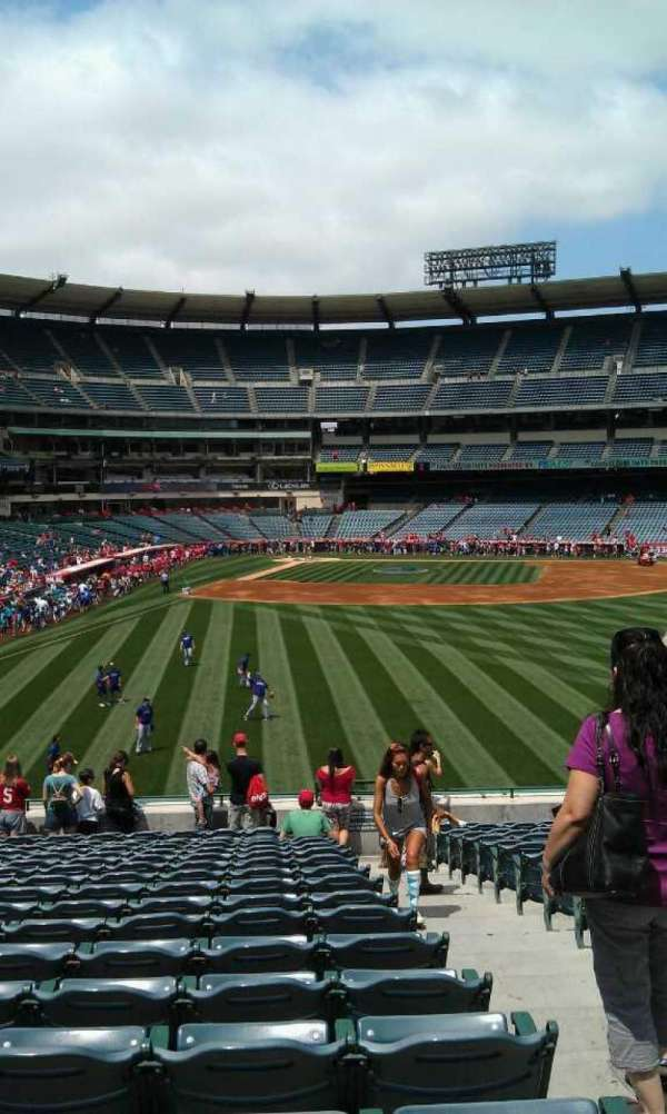 Angel Stadium, section: P236, row: v, seat: 12