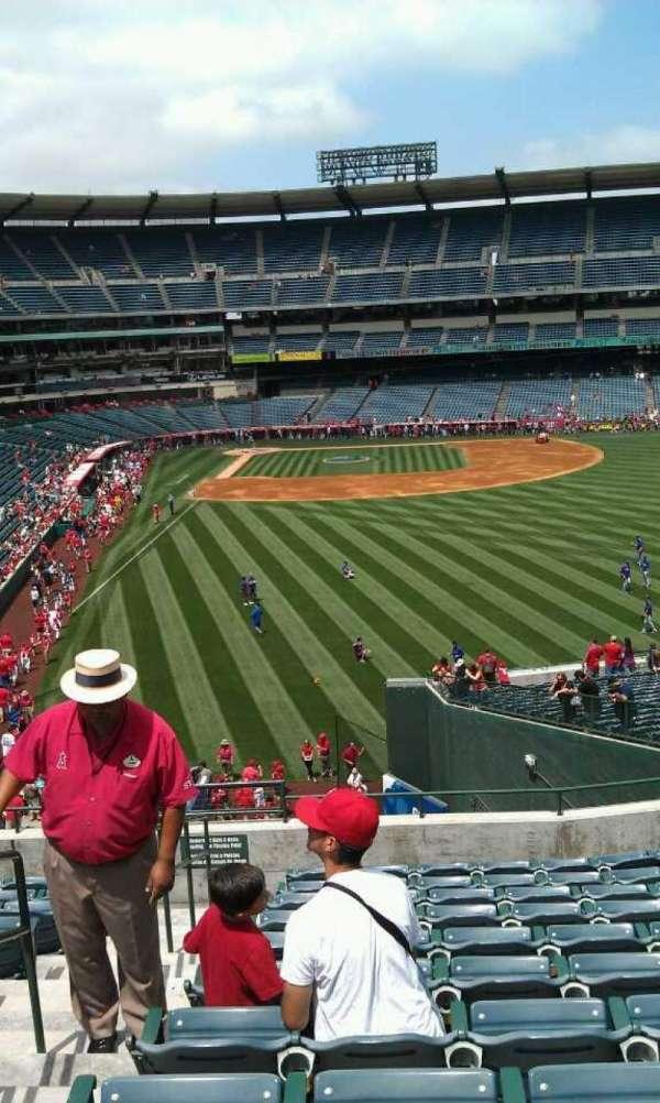 Angel Stadium, section: T233, row: l, seat: 2
