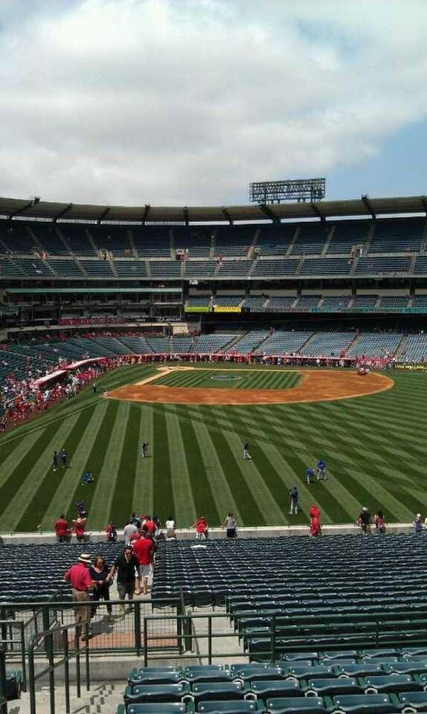 Angel Stadium, section: P245, row: l , seat: 1