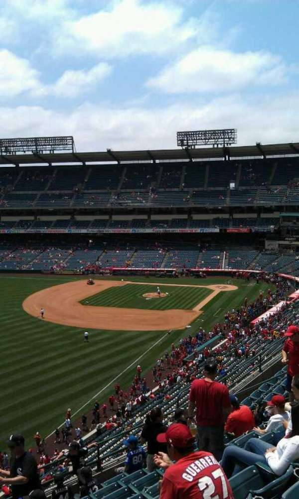 Angel Stadium, section: V405, row: j , seat: 1