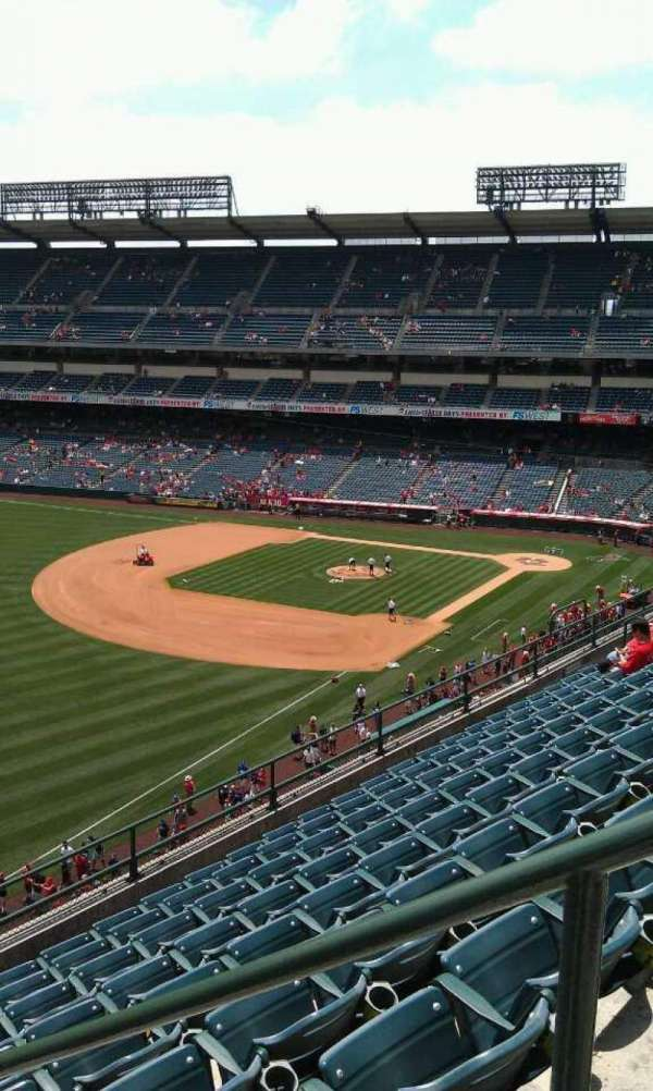 Angel Stadium, section: V406, row: j , seat: 18