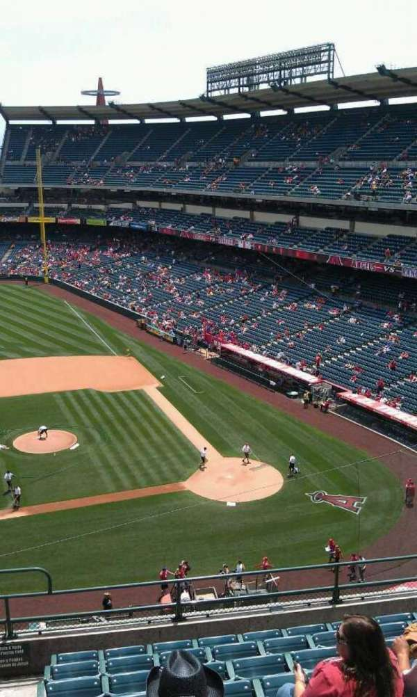 Angel Stadium, section: V413, row: j , seat: 1