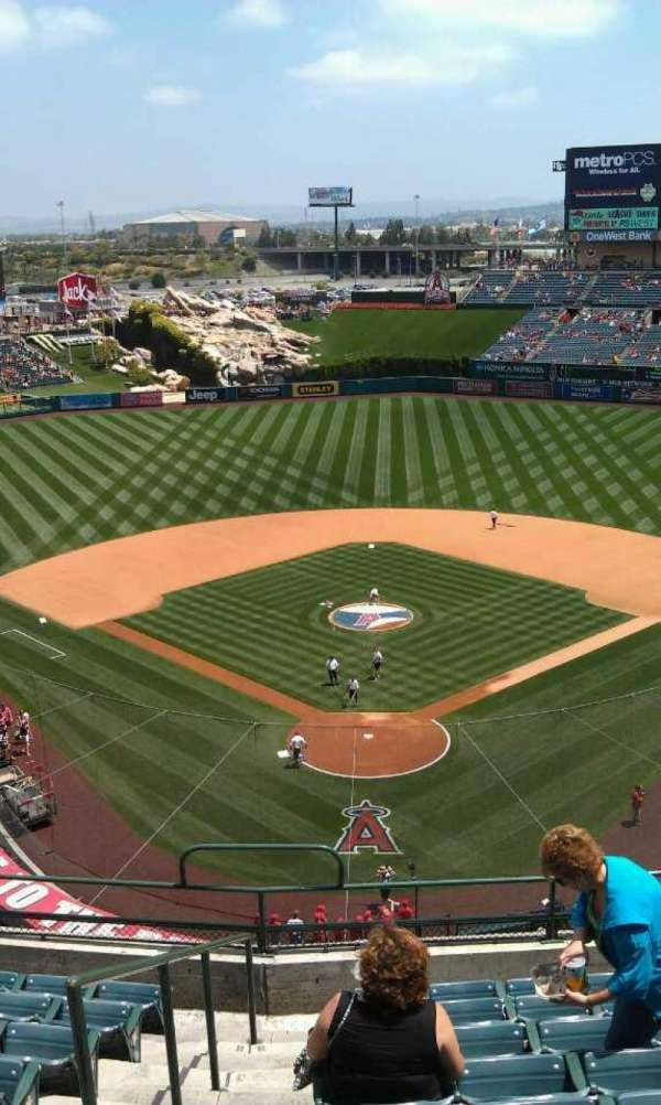Angel Stadium, section: V419, row: j , seat: 1