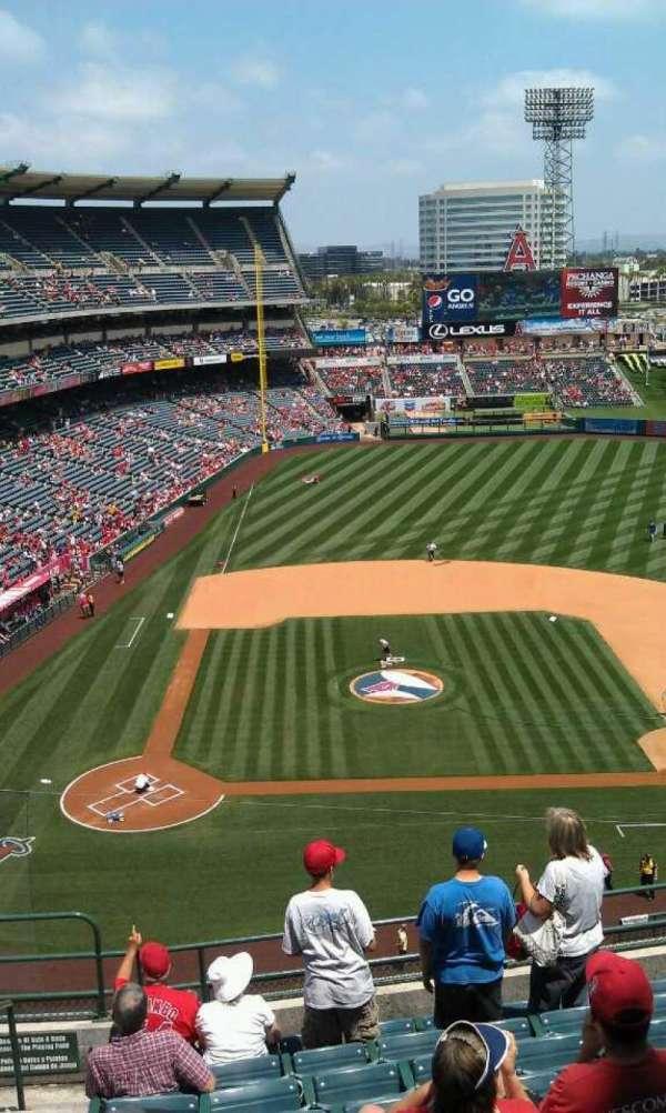 Angel Stadium, section: V424, row: j, seat: 1