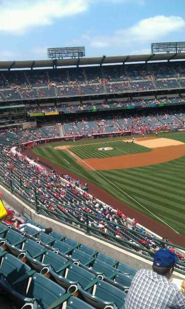 Angel Stadium, section: V432, row: f, seat: 16
