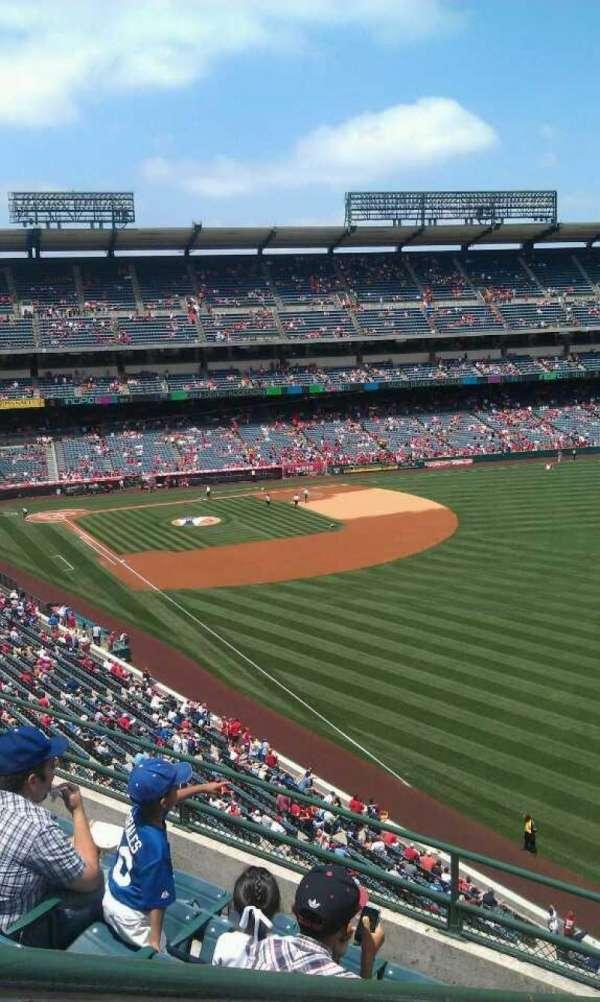 Angel Stadium, section: V433, row: f , seat: 1