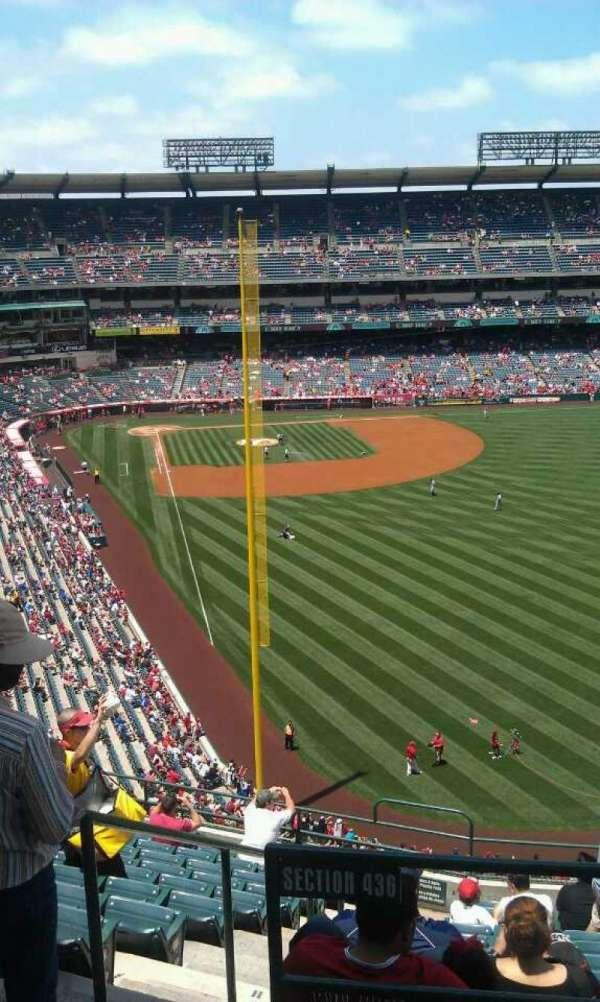 Angel Stadium, section: V539, row: b , seat: 1