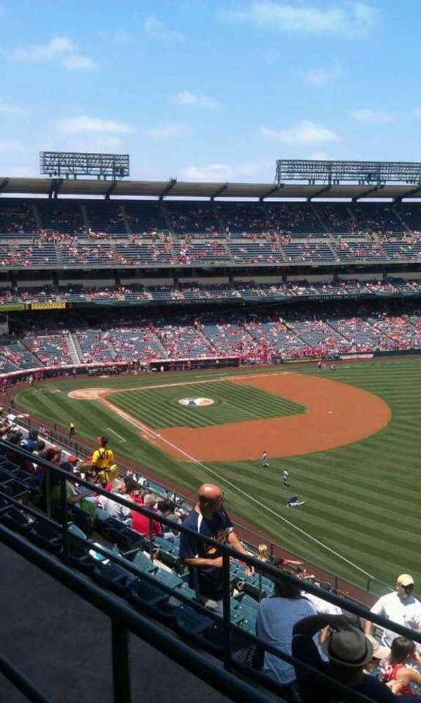 Angel Stadium, section: V534, row: b, seat: 16