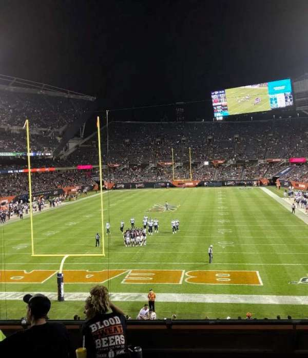 Soldier Field, section: 221, row: 6, seat: 8