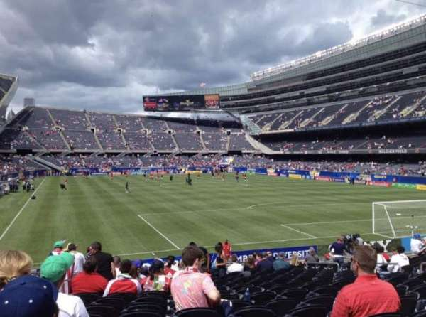 Soldier Field, section: 125, row: 19, seat: 7