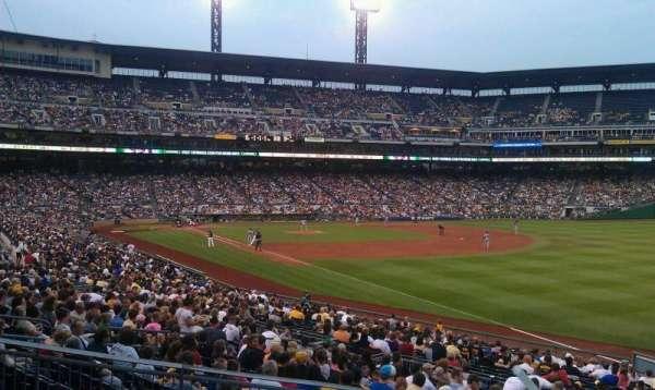 PNC Park, section: 147, row: A, seat: 15
