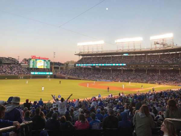 Wrigley Field, section: 205, row: 4, seat: 3