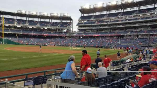 Nationals Park, section: 112, row: J, seat: 14