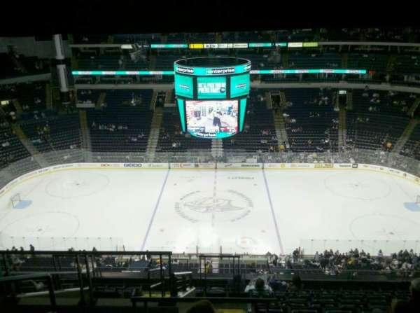 Bridgestone Arena, section: 326, row: M, seat: 19