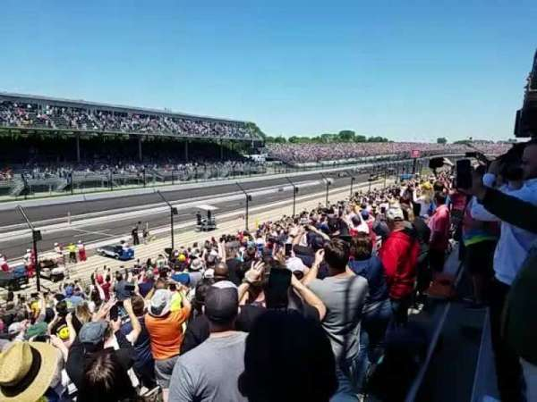 Indianapolis Motor Speedway, section: Tower Terrace 65, row: EE, seat: 9
