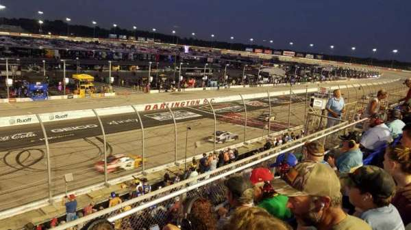 Darlington Raceway, section: Tyler Tower P, row: 3, seat: 20