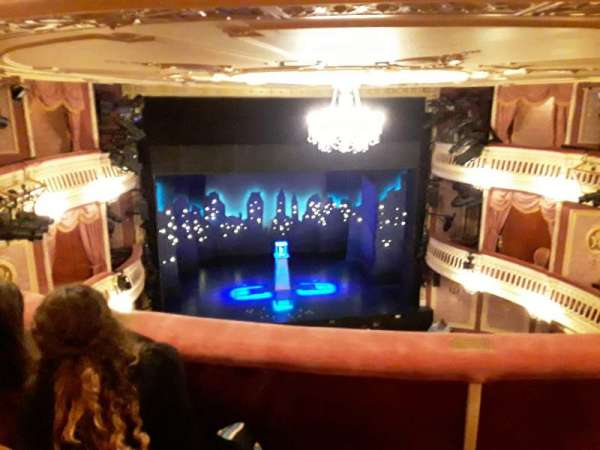 Criterion Theatre, section: Upper Circle, row: C, seat: 20
