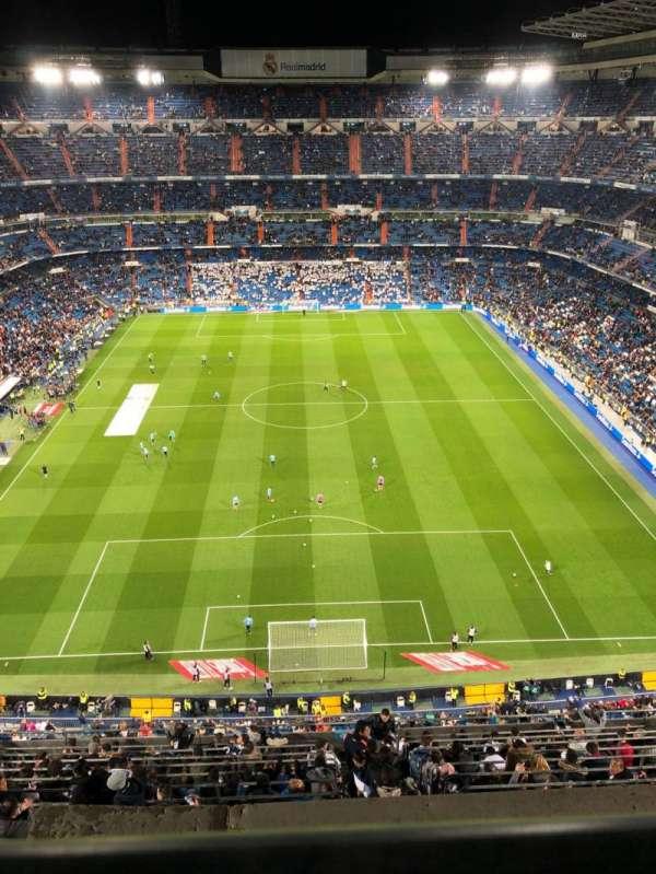 Santiago Bernabéu Stadium, section: 625, row: 1, seat: 22