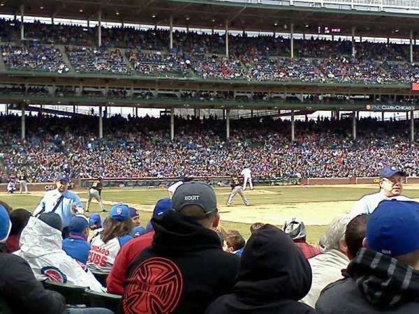 Wrigley Field, section: 29, row: 10, seat: 6