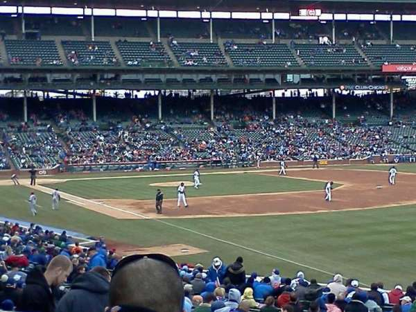 Wrigley Field, section: 240, row: 6, seat: 105