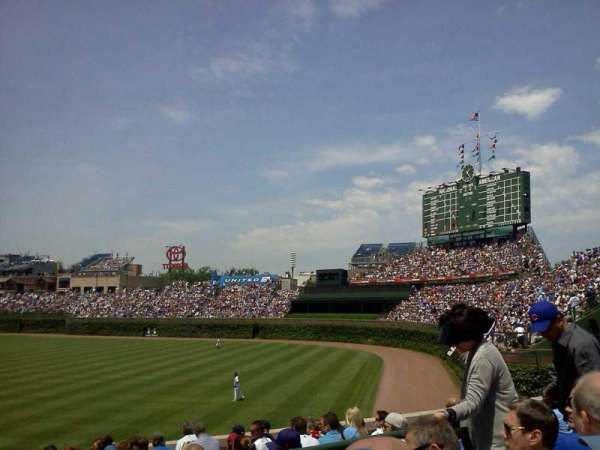 Wrigley Field, section: 242, row: 3, seat: 112