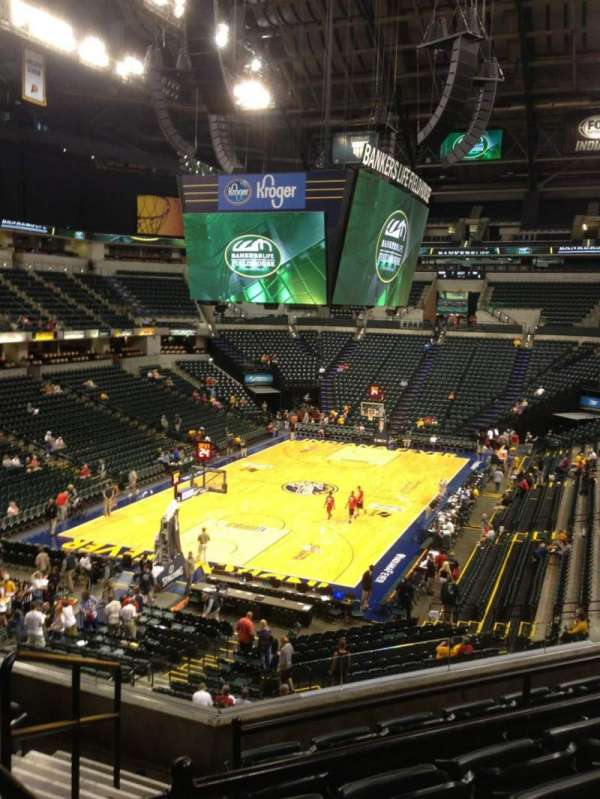 Bankers Life Fieldhouse, section: 109, row: 9, seat: 11