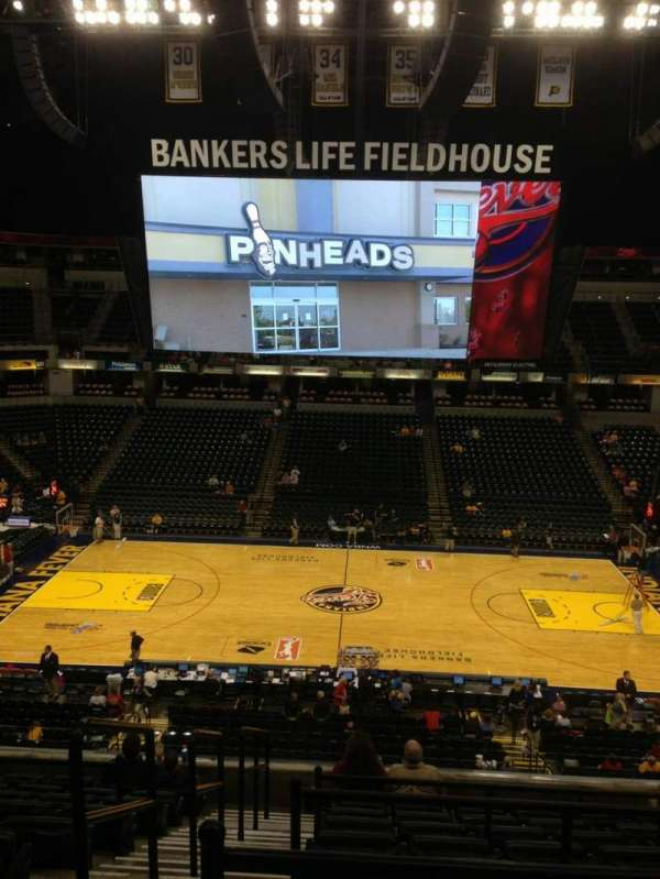 Bankers Life Fieldhouse, section: 104, row: 10, seat: 8