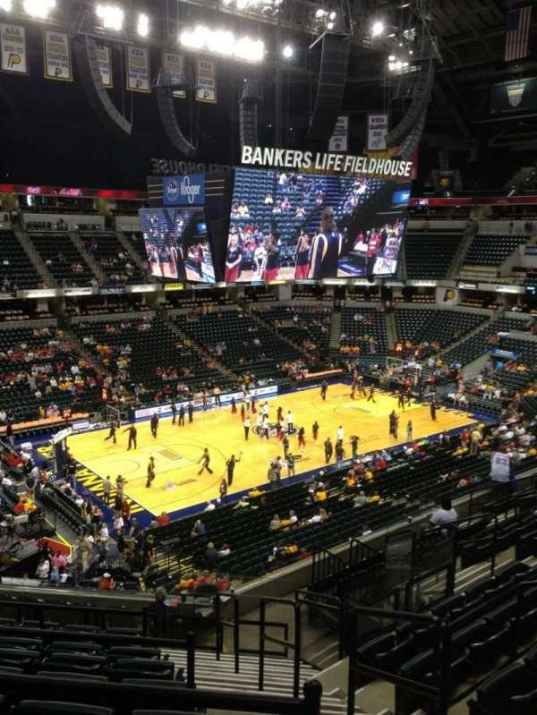 Bankers Life Fieldhouse, section: 120, row: 12, seat: 12