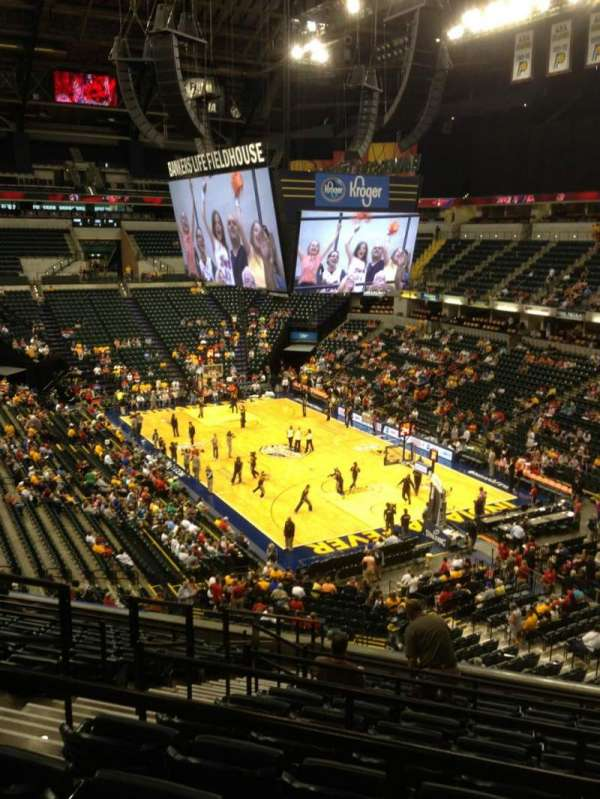 Bankers Life Fieldhouse, section: 112, row: 12, seat: 12