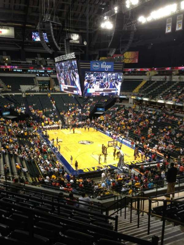 Bankers Life Fieldhouse, section: 112, row: 12, seat: 1