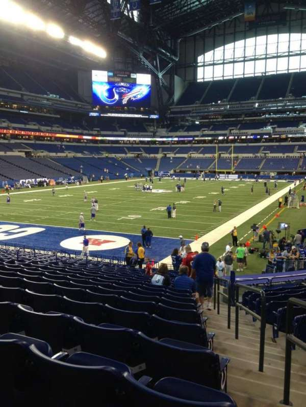 Lucas Oil Stadium, section: 151, row: 22, seat: 1