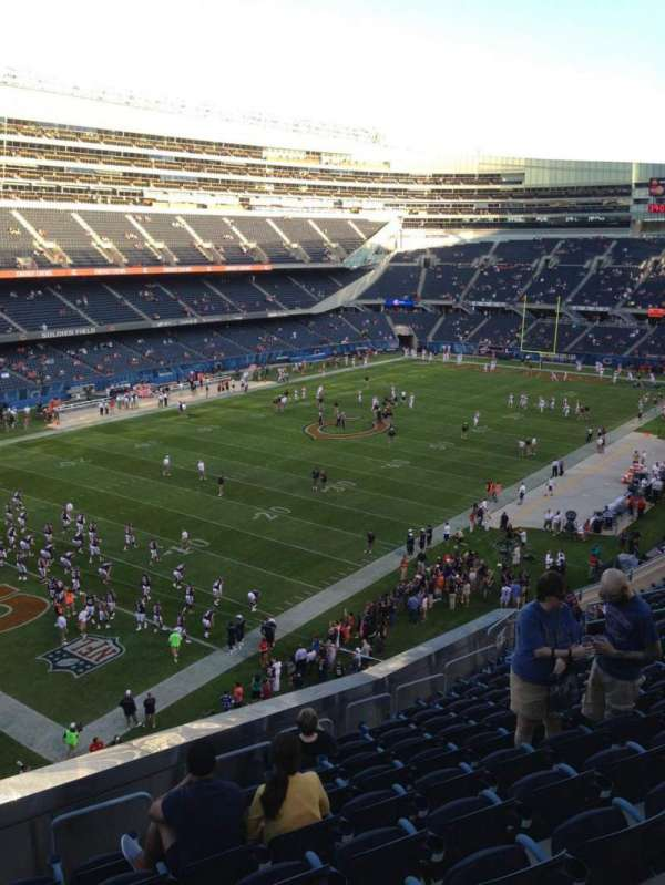 Soldier Field, section: 344, row: 13, seat: 3