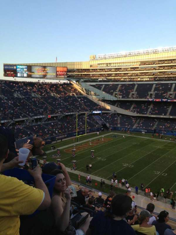 Soldier Field, section: 338, row: 15, seat: 18