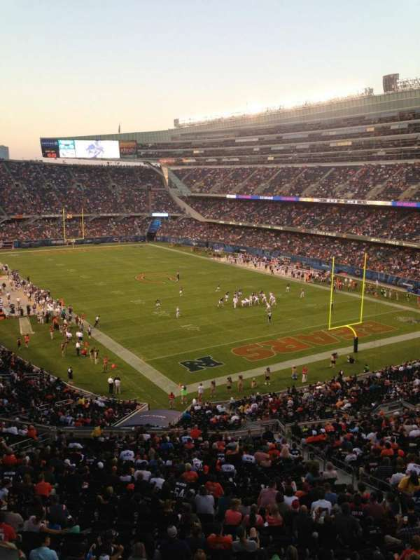 Soldier Field, section: 326, row: 6, seat: 3