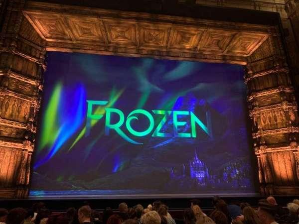 Theatre Royal Drury Lane, section: Stalls, row: H, seat: 28