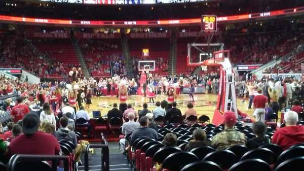 PNC Arena, section: 127, row: E, seat: 9