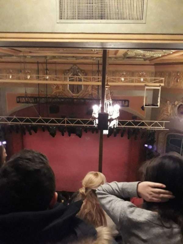 Shubert Theatre, section: Balcony C, row: J, seat: 102