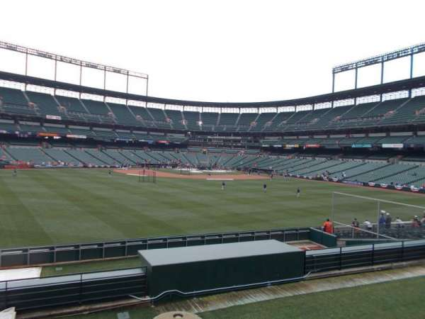 Oriole Park at Camden Yards, section: Center Field Standing Rm Only