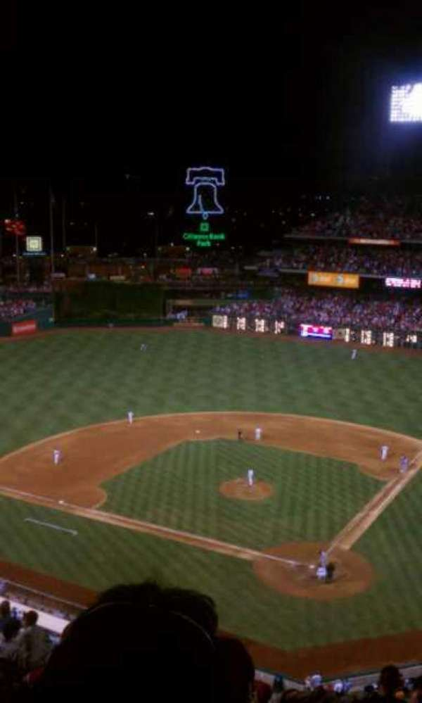 Citizens Bank Park, section: 422, row: 4, seat: 24