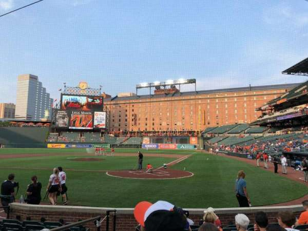 Oriole Park at Camden Yards, section: 42, row: 9, seat: 6