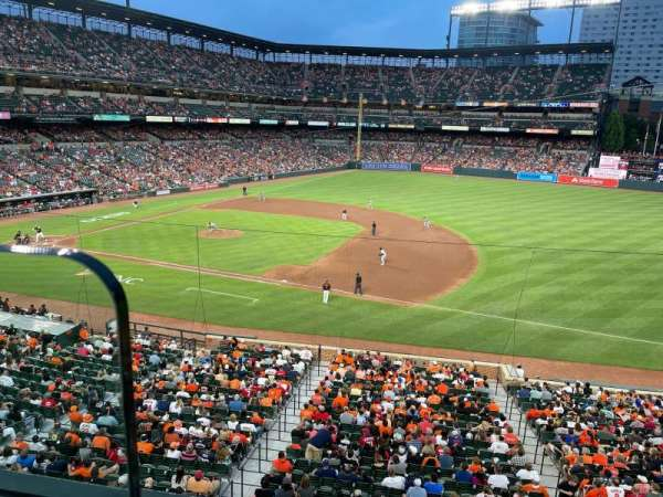Oriole Park at Camden Yards, section: 216, row: 1, seat: 18