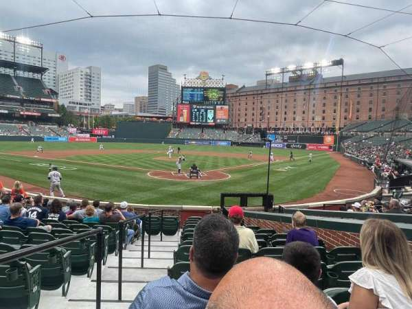 Oriole Park at Camden Yards, section: 38, row: 14, seat: 7