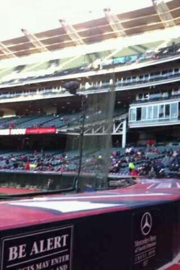 Progressive Field, section: 158, row: F, seat: 2