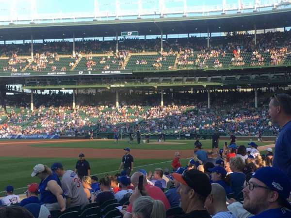 Wrigley Field, section: 5, row: 14, seat: 12