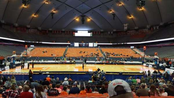 Carrier Dome, section: 109, row: L, seat: 115