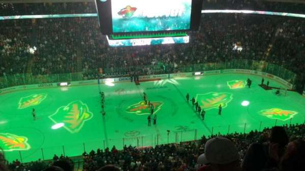Xcel Energy Center, section: 205, row: 4, seat: 8