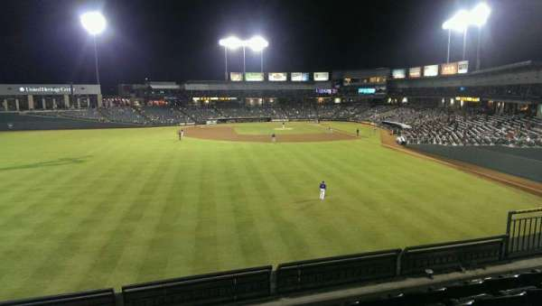Dell Diamond, section: Home Run Porch, row: 5, seat: 9