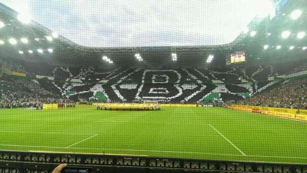 Borussia Park, section: 5, row: 5, seat: 31