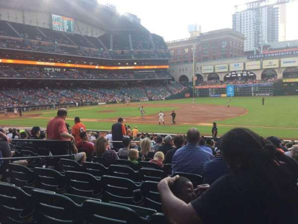 Minute Maid Park, section: 128, row: 24, seat: 7